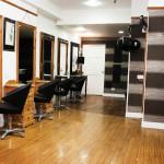 Wide shot of salon 1