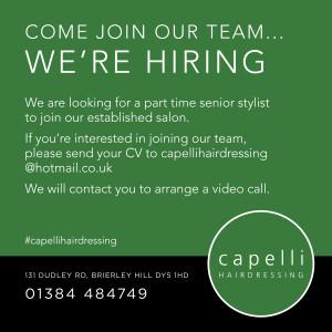 Capelli recruitment ad 021